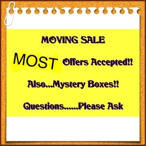 🎉🎉Moving Sale🎉🎉
